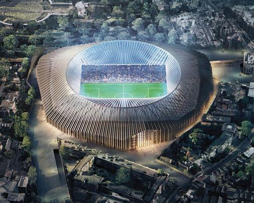 Planning officer said the stadium was a 'high quality piece of design'
