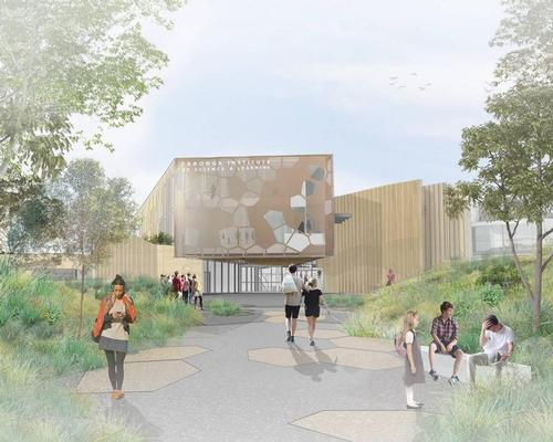 An artist's impression of the entrance to the Taronga Institute of Science and Learning