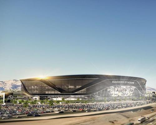 Raiders owner Mark Davis and Casino developer Sheldon Adelson are promoting the plan / MANICA Architecture