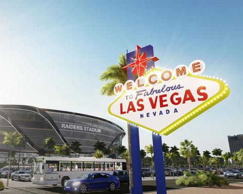The benefits for the City of Las Vegas, according to Davis and Adelson, include US$100m (£76.4m, €89.7m) in annual exposure value from the presence of the Raiders / MANICA Architecture