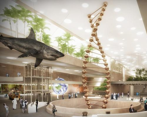 The complex will be the first 21st century science museum, learning and research facility in Egypt  / WW+P