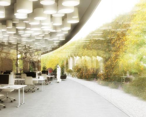 The 125,000sq m (1.35m sq ft) complex is designed to promote scientific knowledge to the public / WW+P