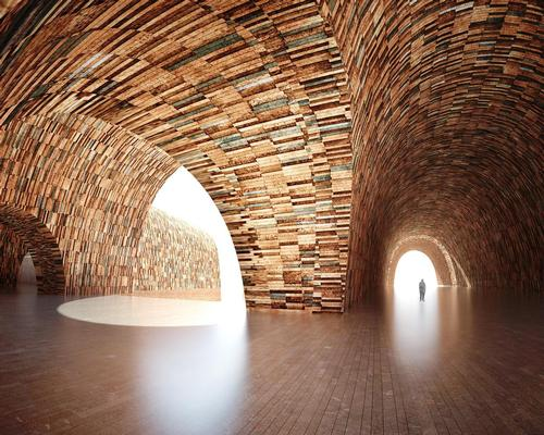 The museum is designed to look hand-crafted / Studio Pei-Zhu