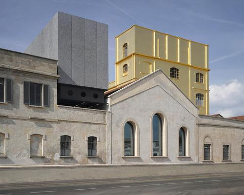 OMA's Prada Foundation in Milan is also in contention / OMA