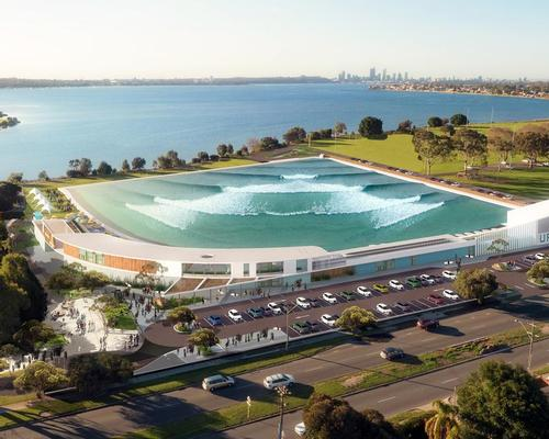 Wave Park Group wants to redevelop a bowls club in the 22 hectare Tompkins Sports Park into a world-class destination / Wave Park Group