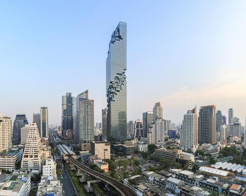 At 314m, the tower is Thailand's tallest / Alexander Roan, courtesy of PACE