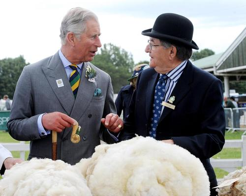 Prince Charles is a long-term campaigner for the wool industry / Anna Gowthorpe / PA Archive/Press Association Images