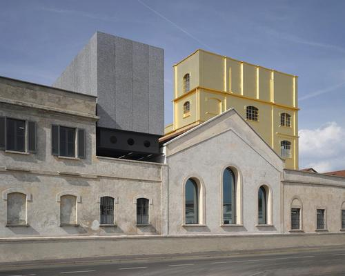 OMA's Prada Foundation building is in the running for London Design Museum's top annuak architecture prize / OMA