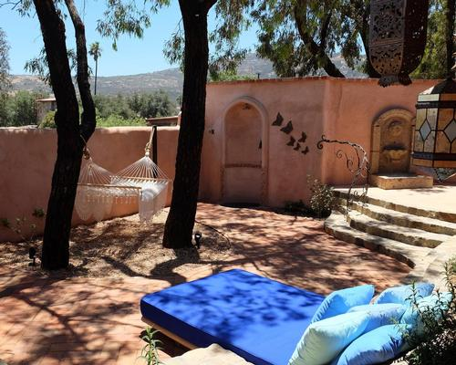 The villas include meditation cushions, indoor/outdoor speakers that play tranquil music, organic mattresses, outdoor showers, salt water dipping pools, daybeds and hammocks