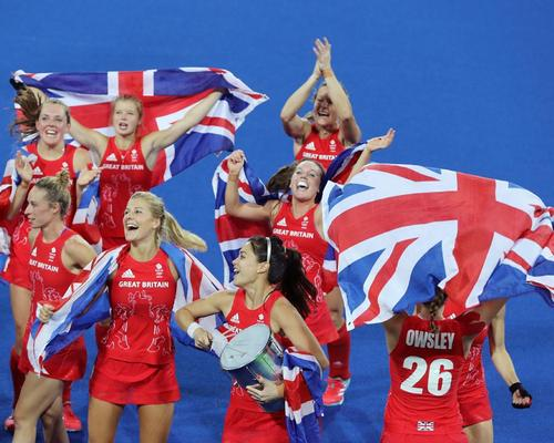 Team GB's women's team won gold at the Rio 2016 Olympic Games / Owen Humphreys/PA Wire/Press Association Images