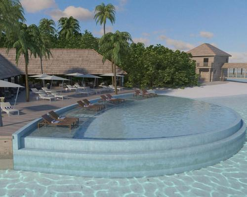The resort itself, designed by New York architect Yuji Yamazaki, features a contemporary collection of 90 villas