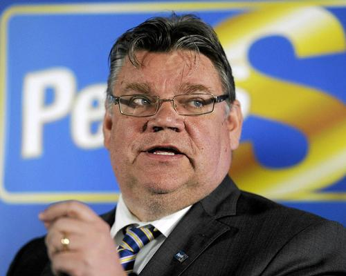 Finns party chair Timo Soini said that Guggenheim Helsinki would 'not even be discussed in the budget session'