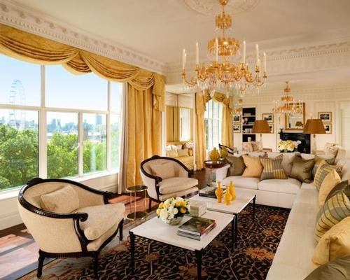 The views from the suites look out onto the River Thames / The Savoy
