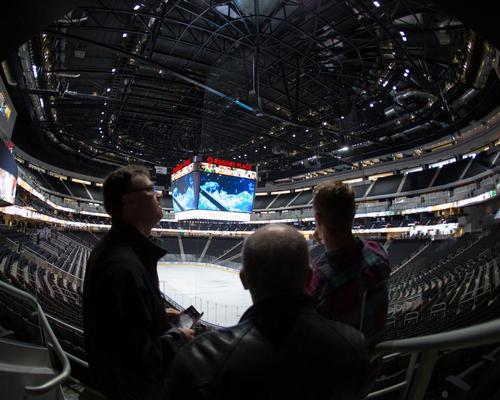 The scoreboard is five times bigger than any other in the NHL / Marko Ditkun/Edmonton Oilers