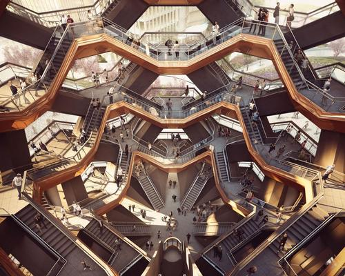 Vessel will have 154 interconnecting flights of stairs, 2,400 steps and 80 landings / Forbes Massie