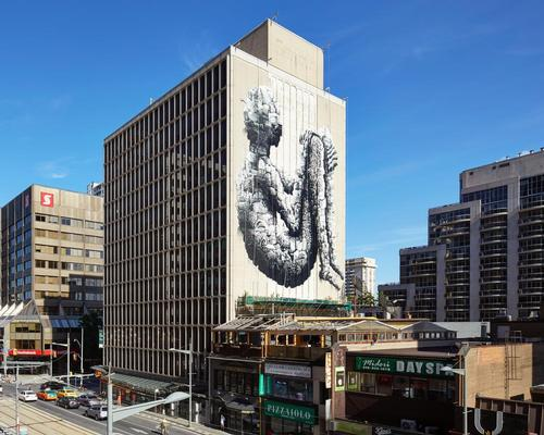 Phlegm's mural is a metaphor for how the residents of Toronto have shaped the city / Ben Rahn