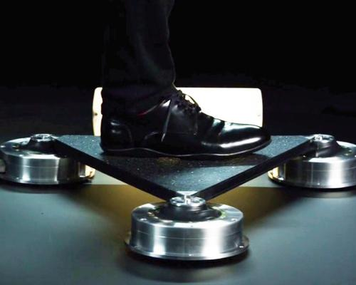 The technology works through the transformation of kinetic energy from people's footsteps into electricity / Pavegen