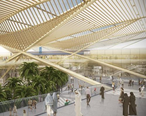 WW+P have designed seven new stations for the Dubai Metro / WW+P