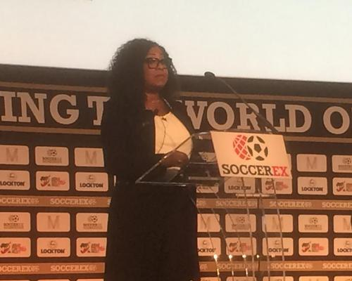 Samoura – the new FIFA secretary general – gave her first official address since her appointment