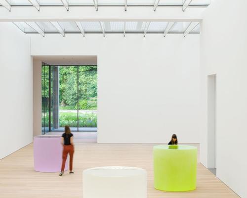 The museum houses the art collection of Dutch industrialist Joop van Caldenborgh / Antoine van Kaam