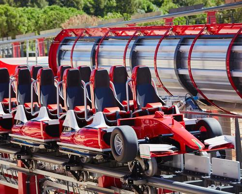 The vertical accelerator will allow visitors to experience first-hand some of the sensations of driving a Formula 1 racing car / PortAventura