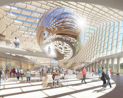 The design submitted by SimpsonHaugh and Partners / SimpsonHaugh and Partners