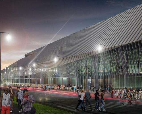 The facility will serve both the Washington Wizards and the wider community / ROSSETTI