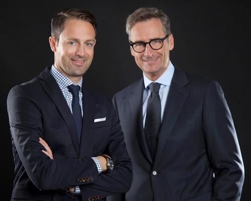 Adrian Egger (left) joins Dr Franz Linser (right) as director of international business development for spa and wellness consultancy Linser Hospitality