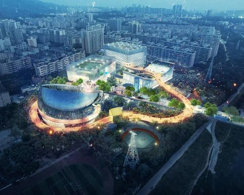 The concept of MVRDV's design was to introduce a 'fun, human, social and sustainable model' / MVRDV