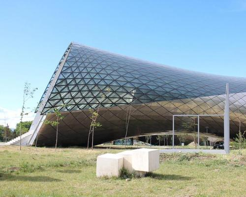 The architect is known for his abstract shapemaking / Studio Fuksas