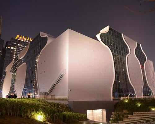 Taichung Metropolitan Opera House, designed by Pritzker Prize winner Toyo Ito, took a decade to complete