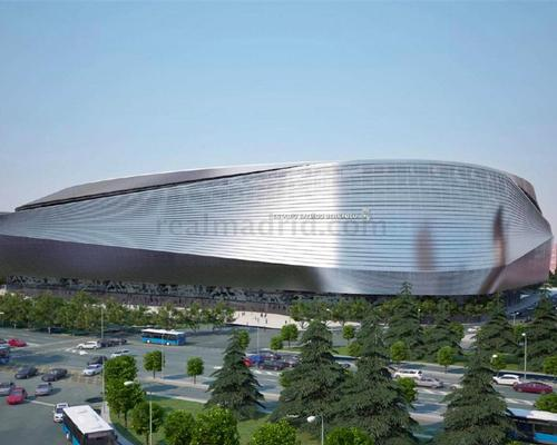 Perez said the stadium would be an 'avant-garde architectural icon'