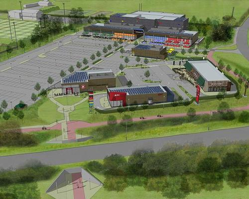 Developed by Turnstone Estates, the project will include a new flagship leisure centre and a multi-screen cinema operated by Cineworld