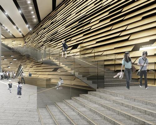 The museum will celebrate the long history of Scottish design / Kengo Kuma and Associates