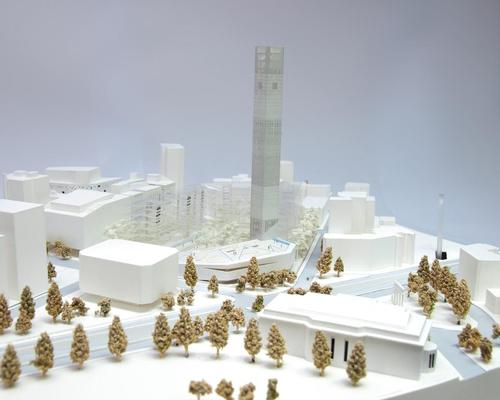 The new museum will be centrally located in the heart of Beirut positioned on a symbolically charged site / HW architecture