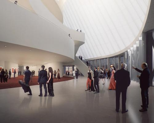 Ma told CLAD he wants to take people on 'a journey to another place' / MAD Architects