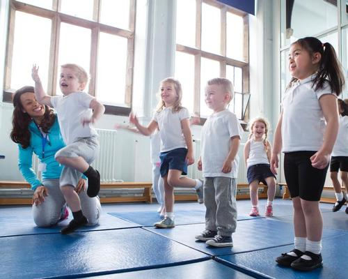 Physical activity course launched for early years practitioners