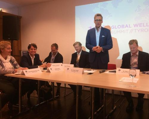 The panel was part of a breakout session at the Global Wellness Summit in Kitzbuhel