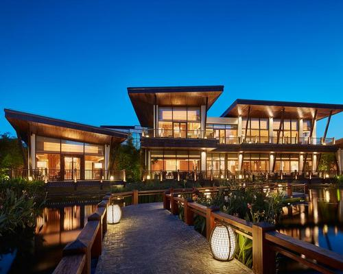 The design of the two-storey site, called Yu Cun, is inspired by the kitchens of the floating homes of the local Dan minority / Grand Hyatt