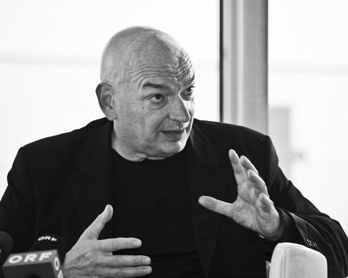 The 15-minute documentary is called Jean Nouvel: Reflections / Christopher Ohmeyer