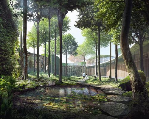 Kengo Kuma's design for the Hans Christian Andersen Museum in Odense, Denmark / Kengo Kuma and Associates