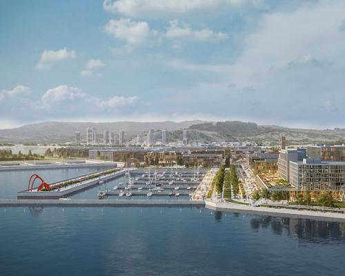 The San Francisco Shipyard will become a vast new leisure district / Five Point