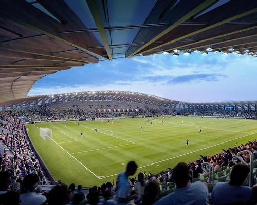 Zaha Hadid Architects were selected ahead of Glen Howells Architects to build a new home for Forest Green Rovers / ZHA/VA