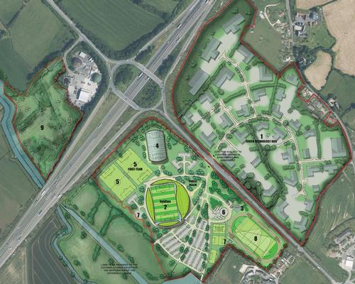 The Eco Park will include the new stadium for Forest Green Rovers and a green technology park which could create 4,000 jobs