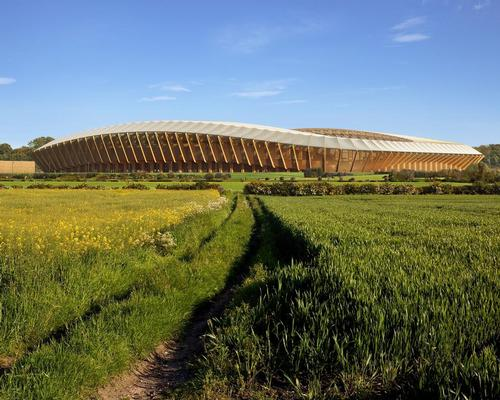 Zaha Hadid Architects will design an all-wooden football stadium for English club Forest Green Rovers / ZHA/VA