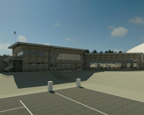 The facility will include four pitches and a gymnasium