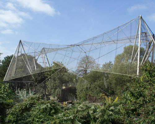 The aviary was the first in Britain to offer visitors a 'walk-through' experience, bringing them closer to the birds in their natural habitat / Katie Chan