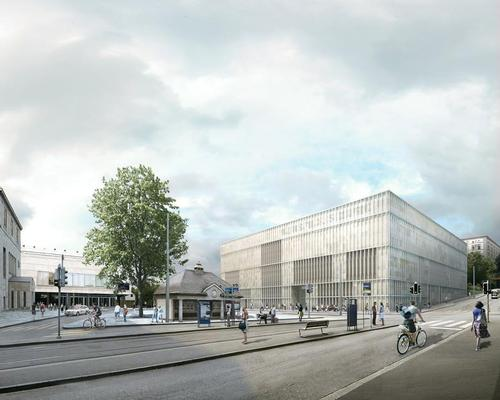 The museum will display a collection of classic modernist art and a contemporary collection / David Chipperfield Architects
