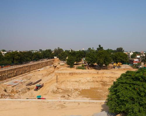 Work is also underway on the Mughal Museum in Agra / David Chipperfield Architects