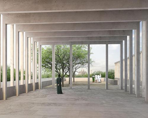 The building will accommodate 5,200sq m (55,972sq ft) permanent and temporary exhibition space / David Chipperfield Architects